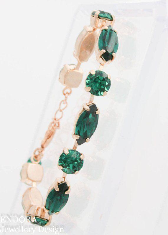 Emerald bracelet 1235c79312