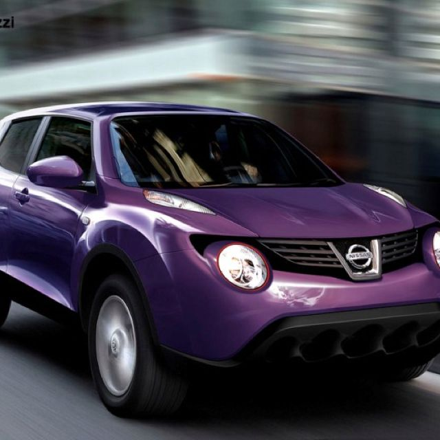 Nissan Juke Purple Yes Please