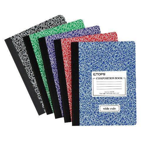 In Middle School I Began Filling Composition Notebooks