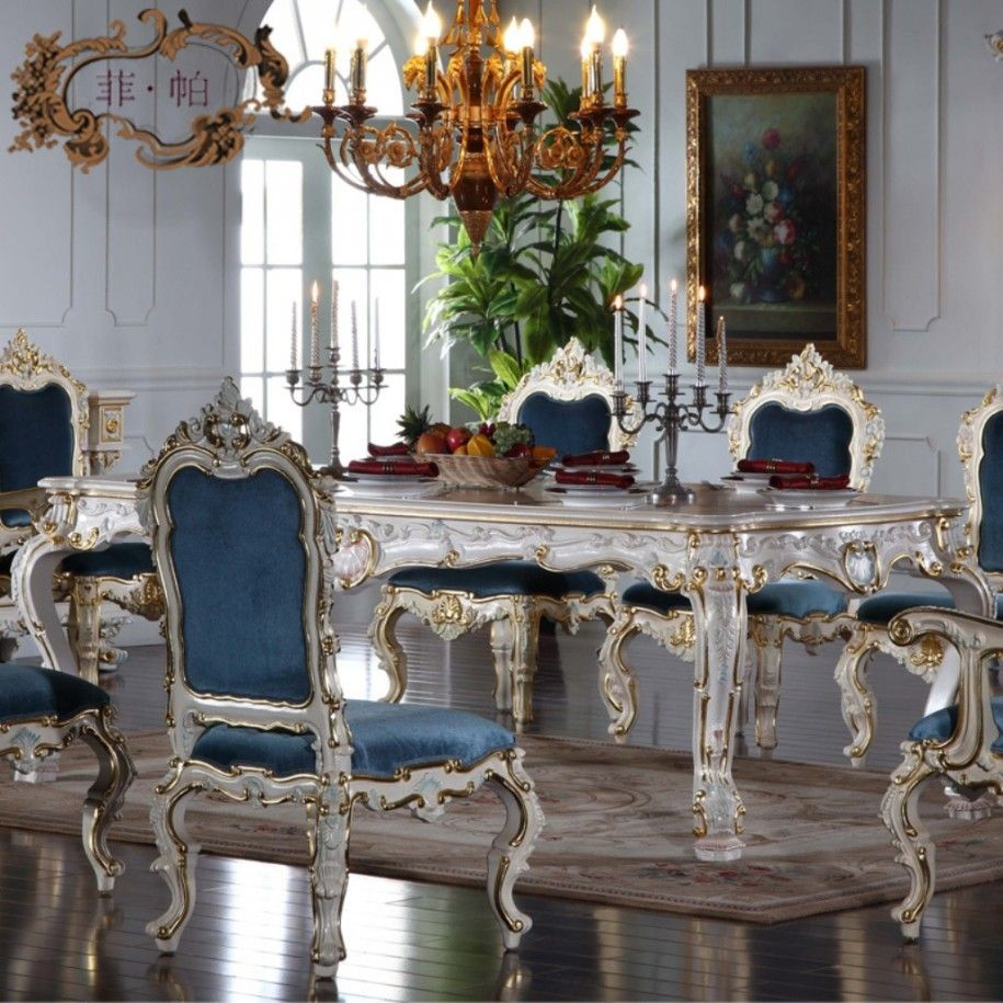 Italian Dining Room Chairs Table And Accessories For Romantic Ambience Elegant Furniture With Sets