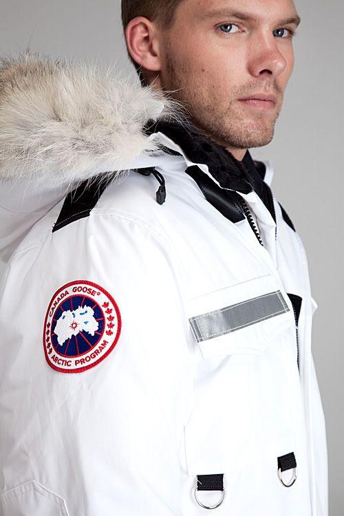 25690955685 Canada Goose Resolute White Parka in White for Men