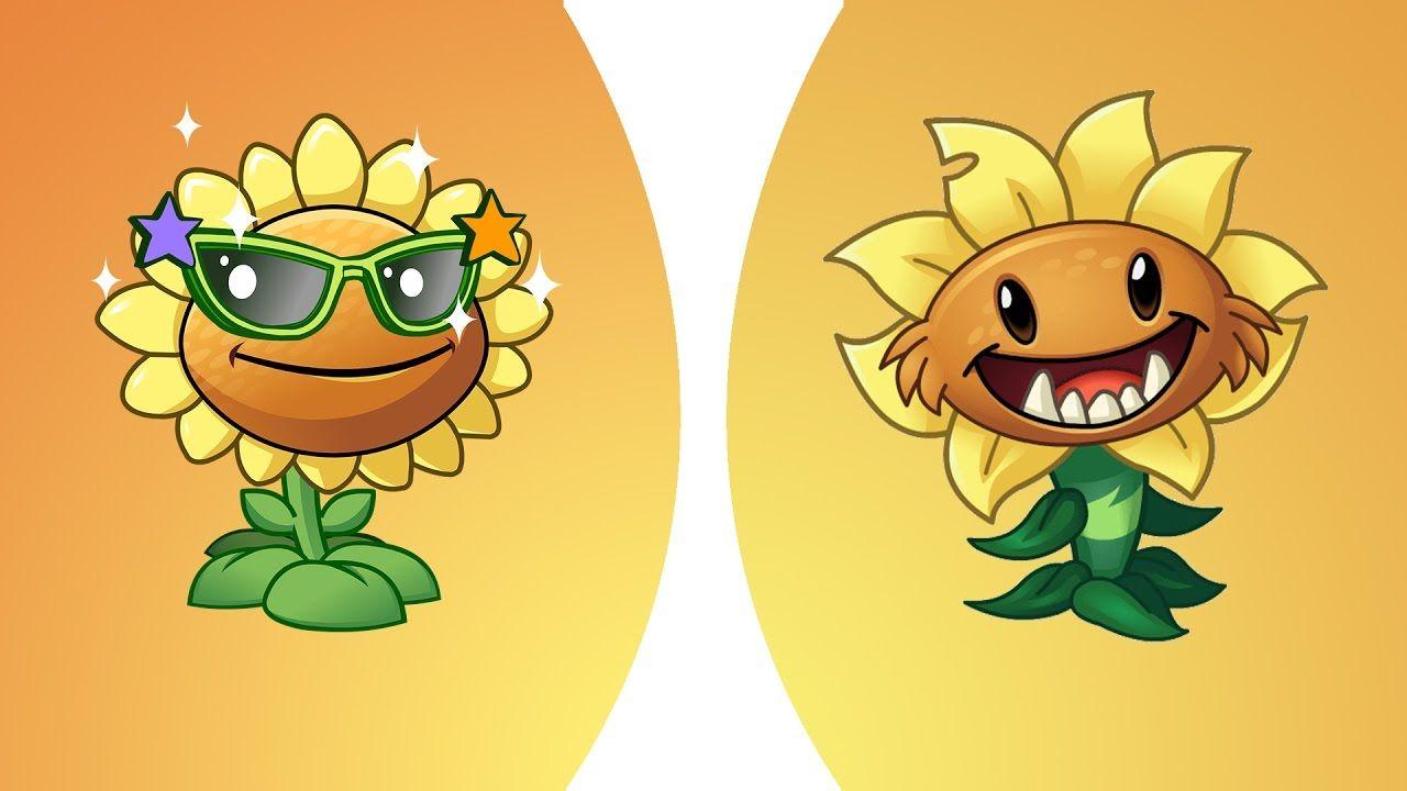 Plants Vs Zombies 2 Vs Sunflower Vs Primal Sunflower