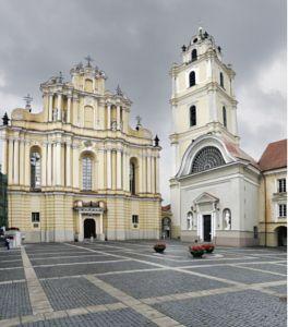 Vilnius university by Sergejus  Lamanosovas