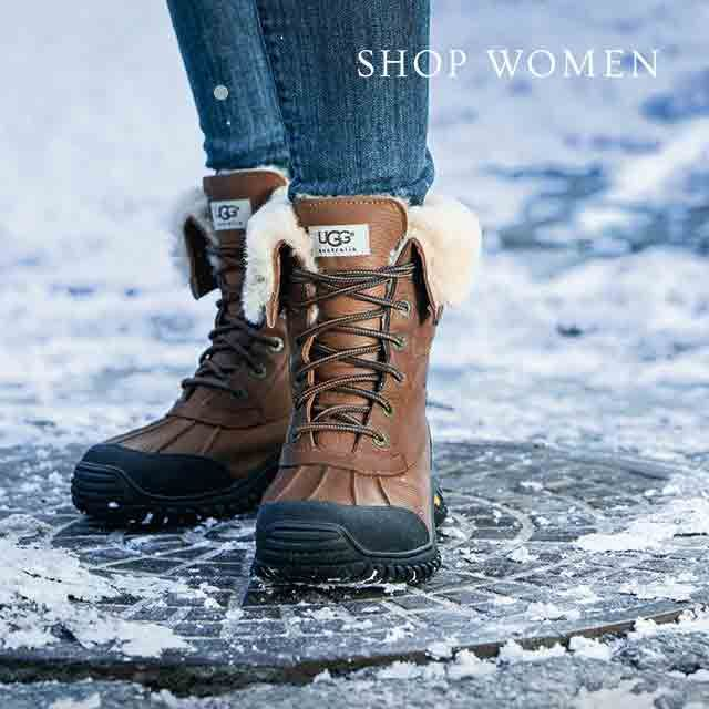 UGG Leather Snow Boots t0h3QHwUP