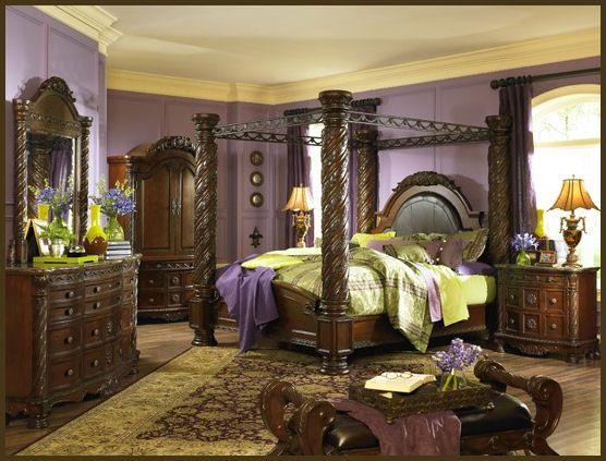 North Shore Poster Bedroom Set By Millennium 3250 Furniture Distributors Fob North Carolina