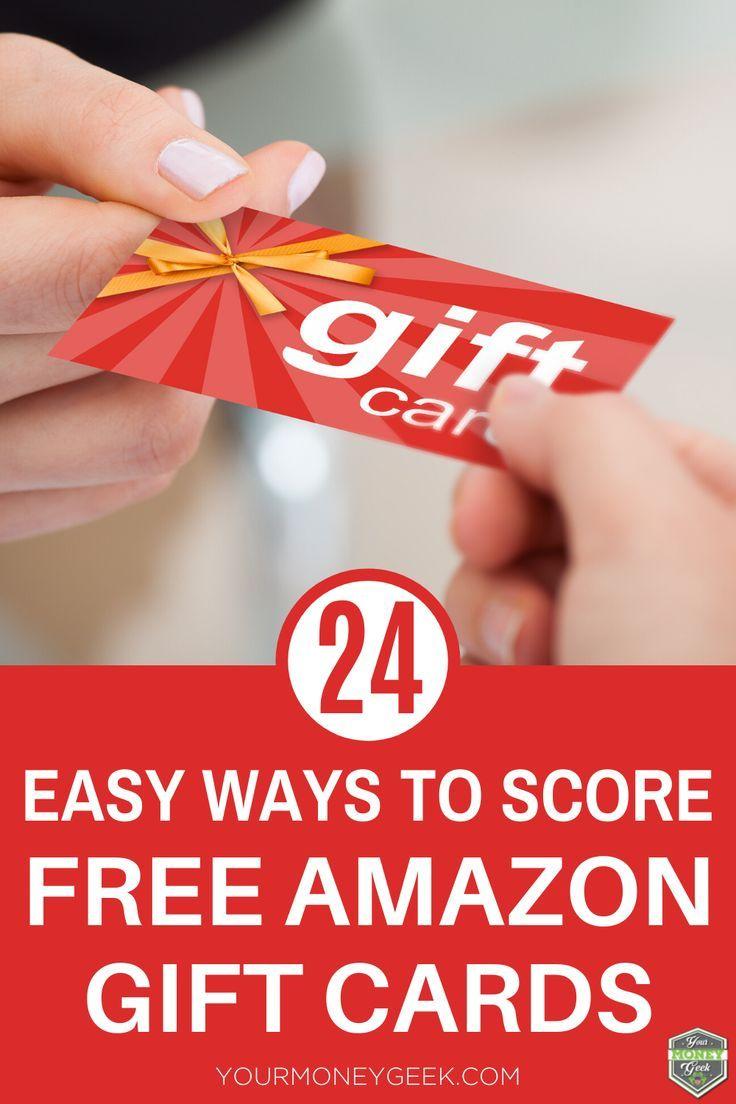 24 easy ways to score a free amazon gift card free money