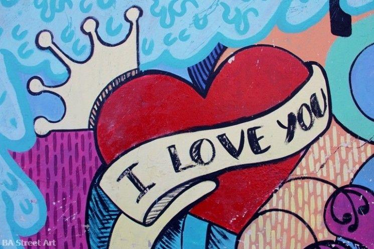 Картинки граффити про любовь