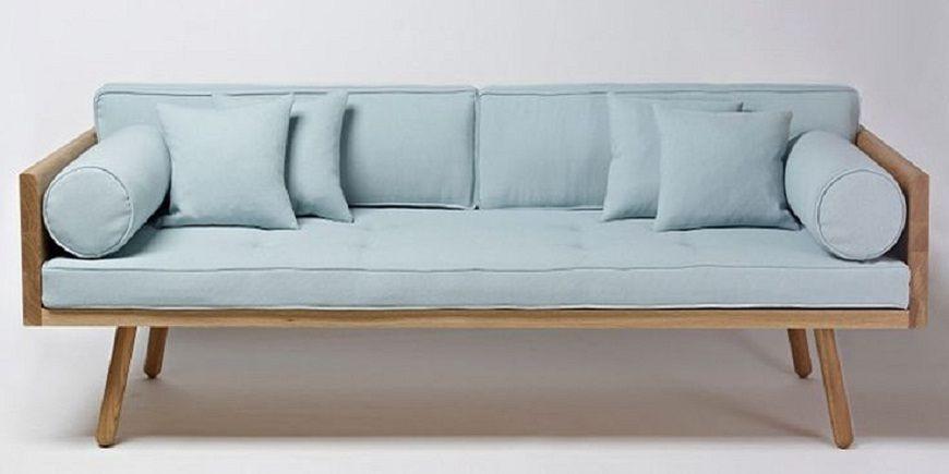 Wood Frame Sofa With Loose Cushions Sofa Wood Frame Sofa Frame