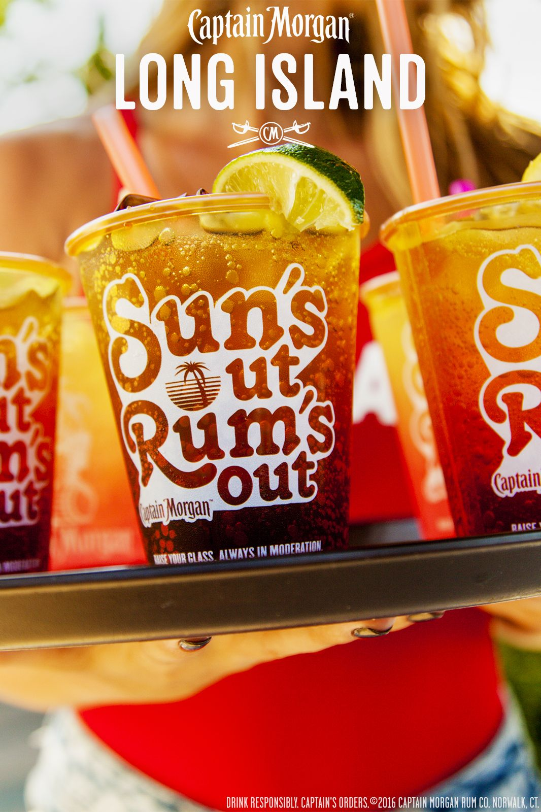 Make Your Bbq More Perfect With A Captain S Long Island Recipe 0 5 Oz Captain Morgan Original Spiced Rum 0 5 Cocktail Drinks Recipes Yummy Drinks Fun Drinks