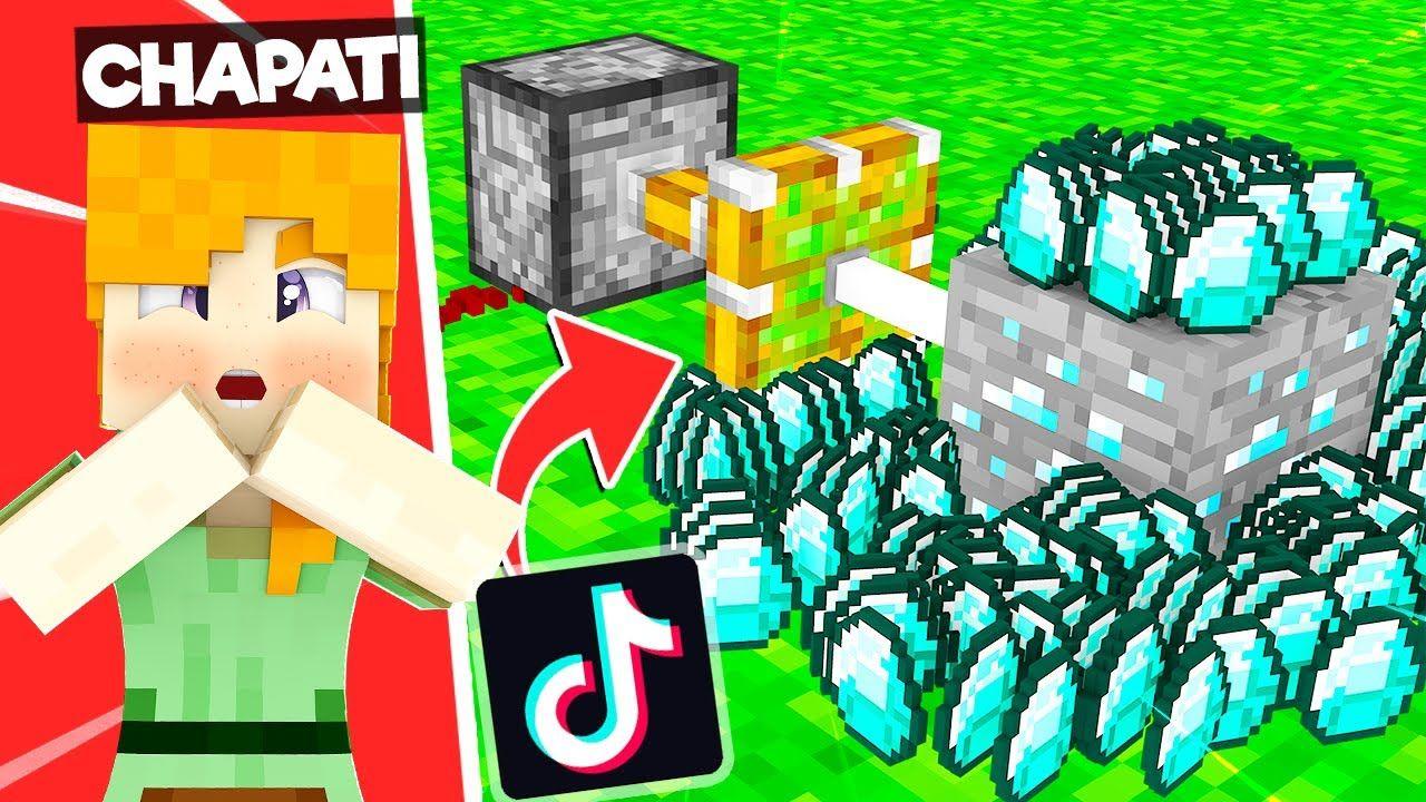 Mining Diamonds Using Tik Tok Hacks Tik Tok