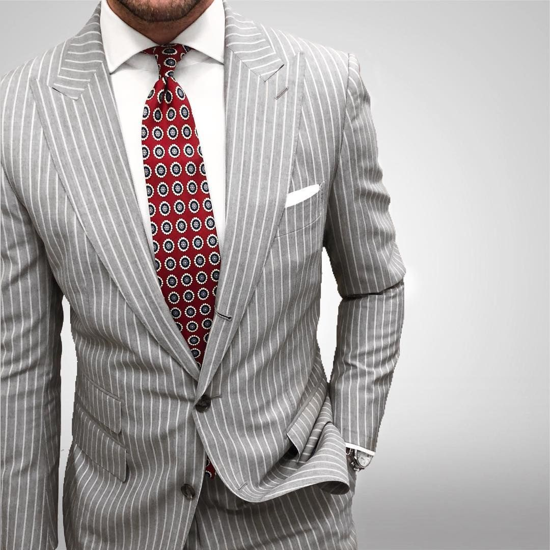 dapper.one   showing us how to to style a pinstripe suit and not ...