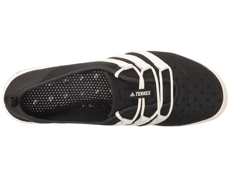 adidas outdoor terrex climacool barca eleganti scarpe da donna nera / gesso