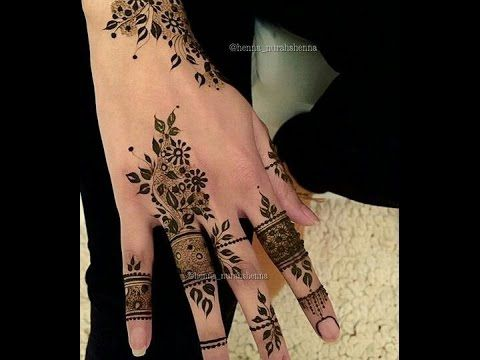 نقوش حناء رااااااائعة مهما كان ذوقك ستجدين ما يعجبك هنا Finger Henna Designs Henna Tattoo Designs Henna