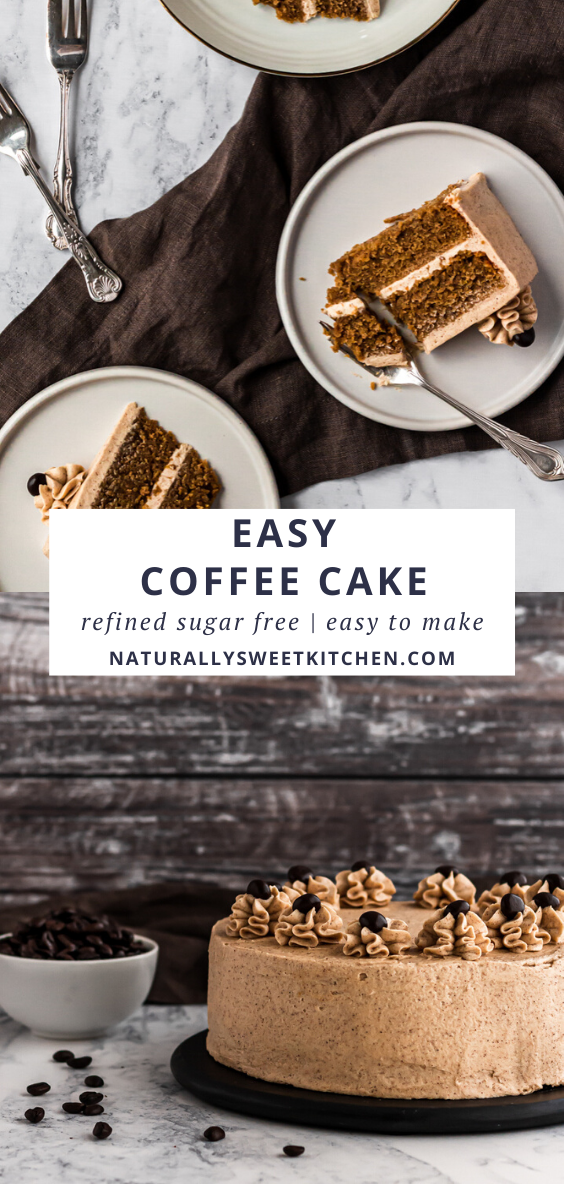 This delicious Easy Coffee Cake recipe features two layers