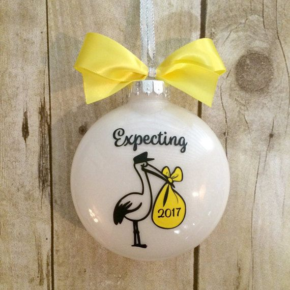 Expecting Ornament We're Expecting Christmas by PearTreePersonal