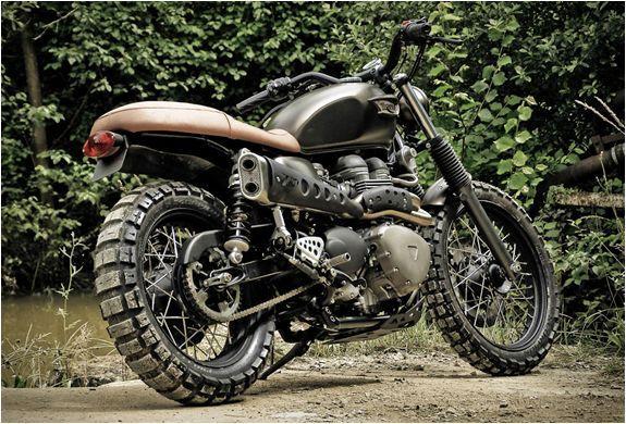 Triumph Scrambler Off Road Fcr Motorbikes Bonnevil Scrambler