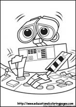 Wall E Coloring Pages Pintar