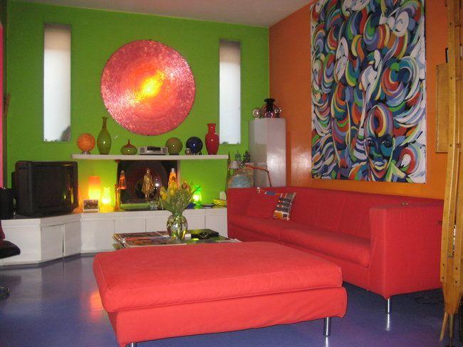 multi colored walls - Design Decoration