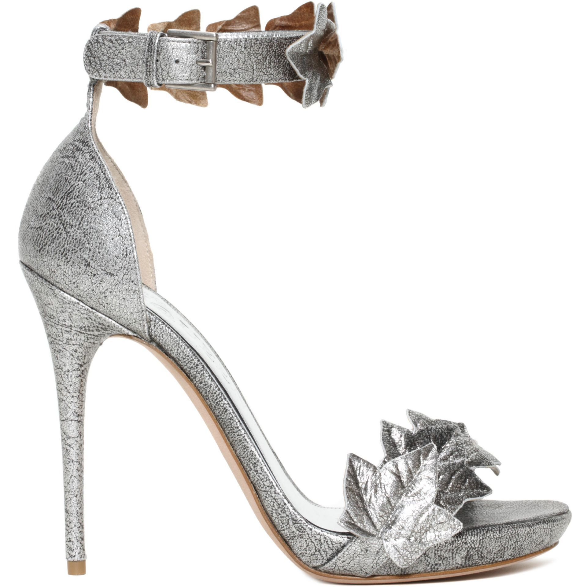 Ivy Ankle Wrap Sandal by Alexander McQueen - Found on HeartThis.com @HeartThis   See item http://www.heartthis.com/product/309848812616116286/