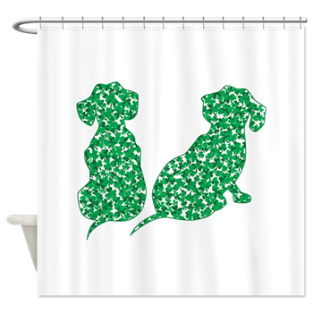 St Patrick S Day Dachshunds Shower Curtain By Roxy407 Curtains