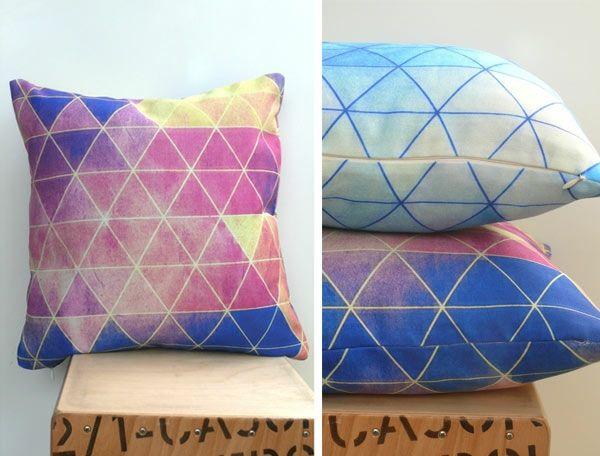 Wohnideen Pastellfarben wohnideen sofakissen geometrische muster pastellfarben and