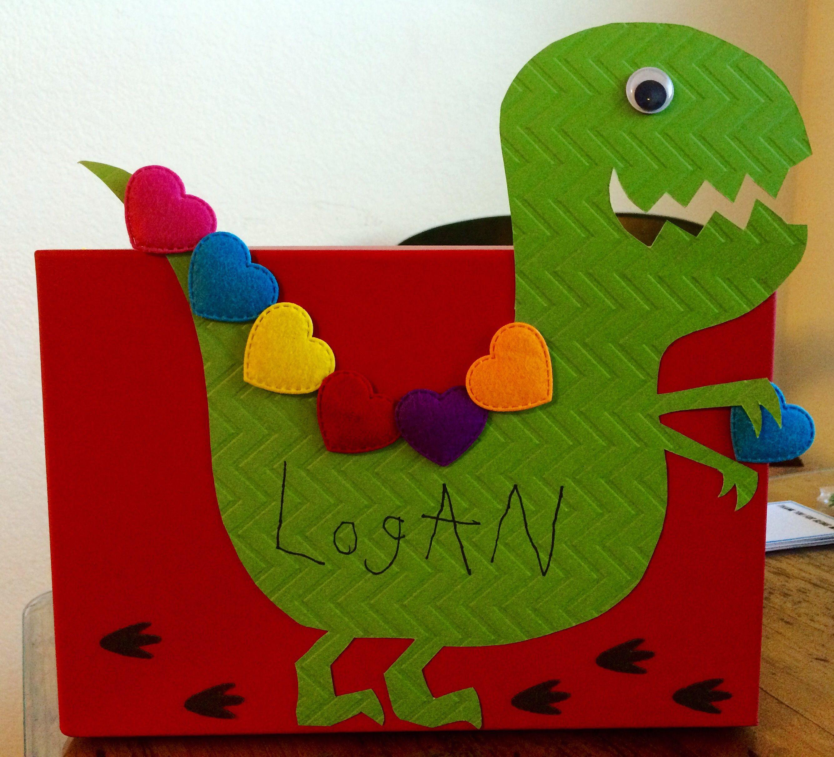 Außergewöhnlich Dinosaur Valentine Box