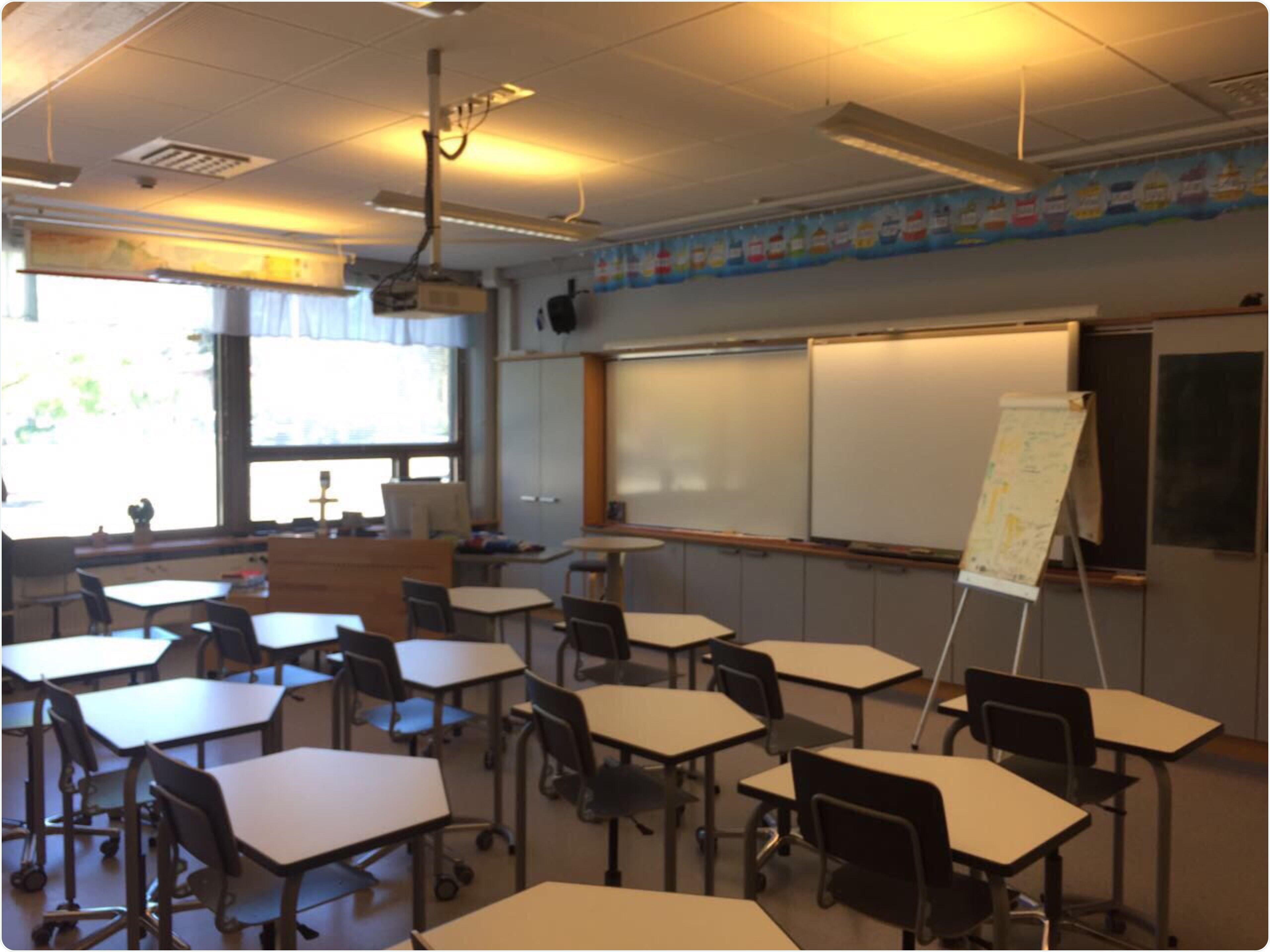 Various Models Of Classrooms In Finnish Schools Teachers Training School In Joensuu نماذج متنوعة للفصول الدراسية في ال Home Home Decor Conference Room Table
