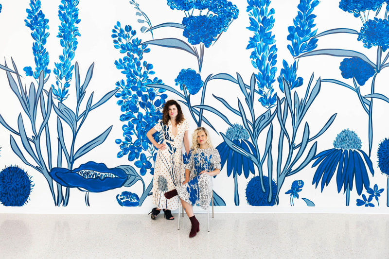 How She She Wallpaper Made a Business Out of Drawi