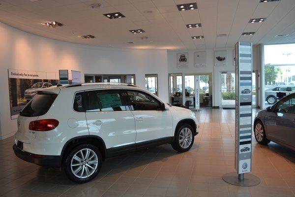 More Of The Showroom Volkswagen Dealership Suv