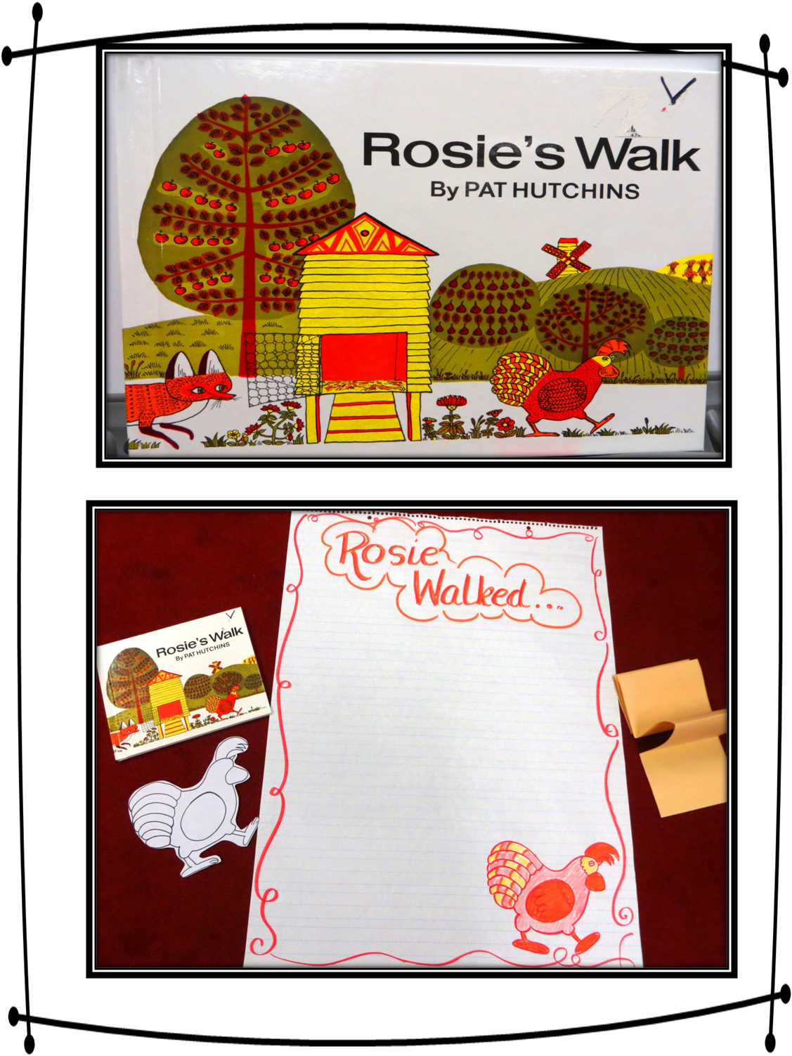 Understanding Community Through Rosie S Walk And Me On The