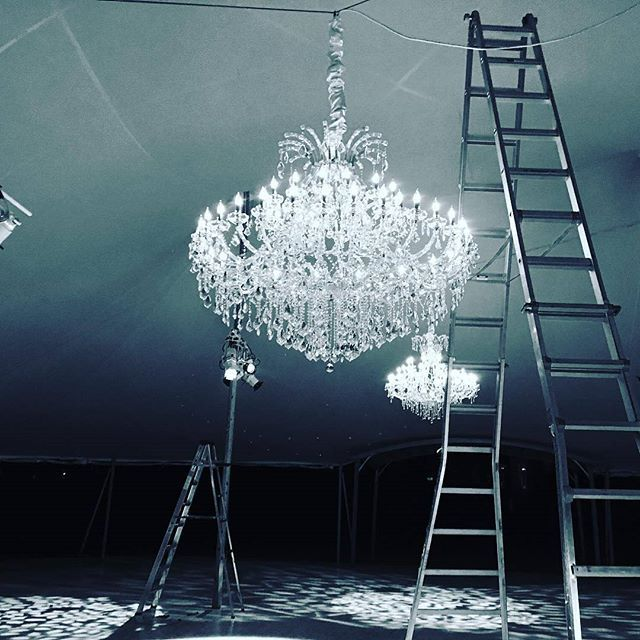 Hanging chandeliers in mid air chandelier crystal signature chandeliers provides high quality chandelier rentals that can be shipped nationwide aloadofball Gallery