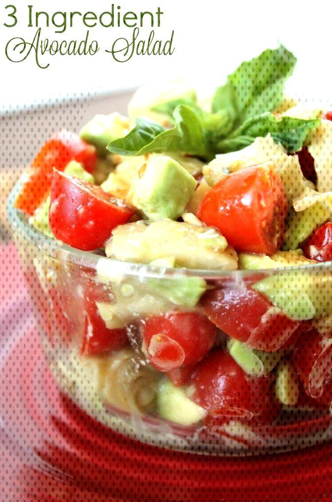 3 Ingredient Avocado Salad 3 Ingredient Avocado Salad,