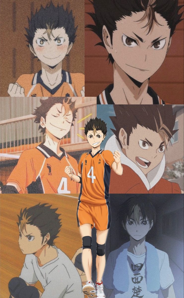 Nishinoya 🧡🖤   Cute anime wallpaper, Haikyuu anime, Anime baby