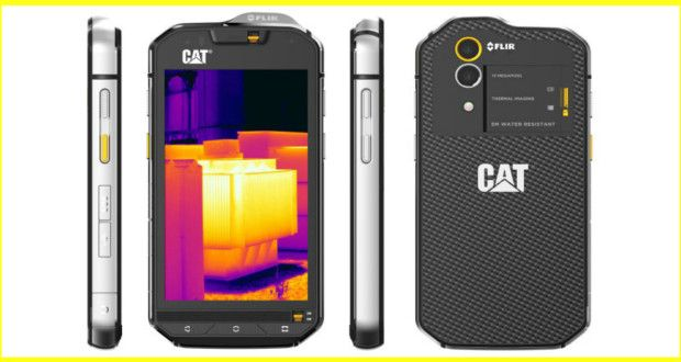 Cat Phones Releases 1st Smartphone S60 With Thermal Imaging   MissOpen
