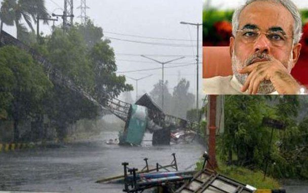 PM announces 1000 crores for Hudhud relief