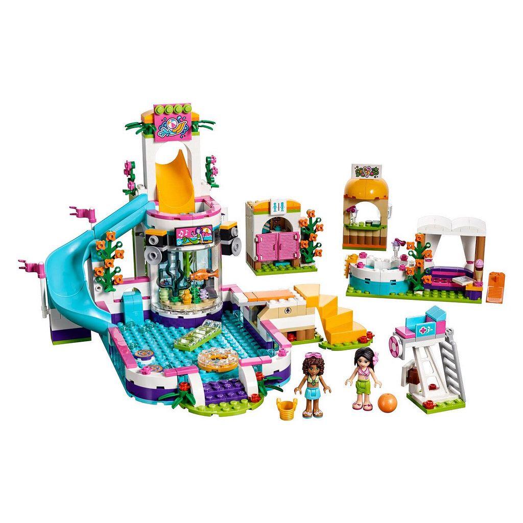 41313 Heartlake Summer Pool Lego Friends Sets Lego