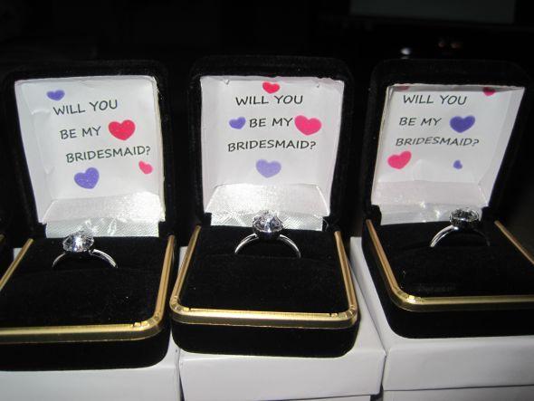 Creative Diy Bridesmaids Invites Wedding Bridesmaid Ideas