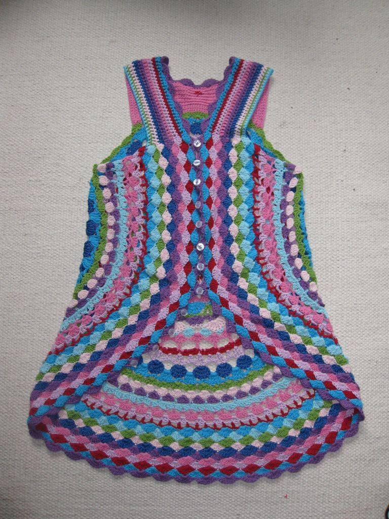 Luls flower power vest free pattern by lene unmack larsen luls flower power vest free crochet pattern on ravelry from lene unmack larson bankloansurffo Choice Image