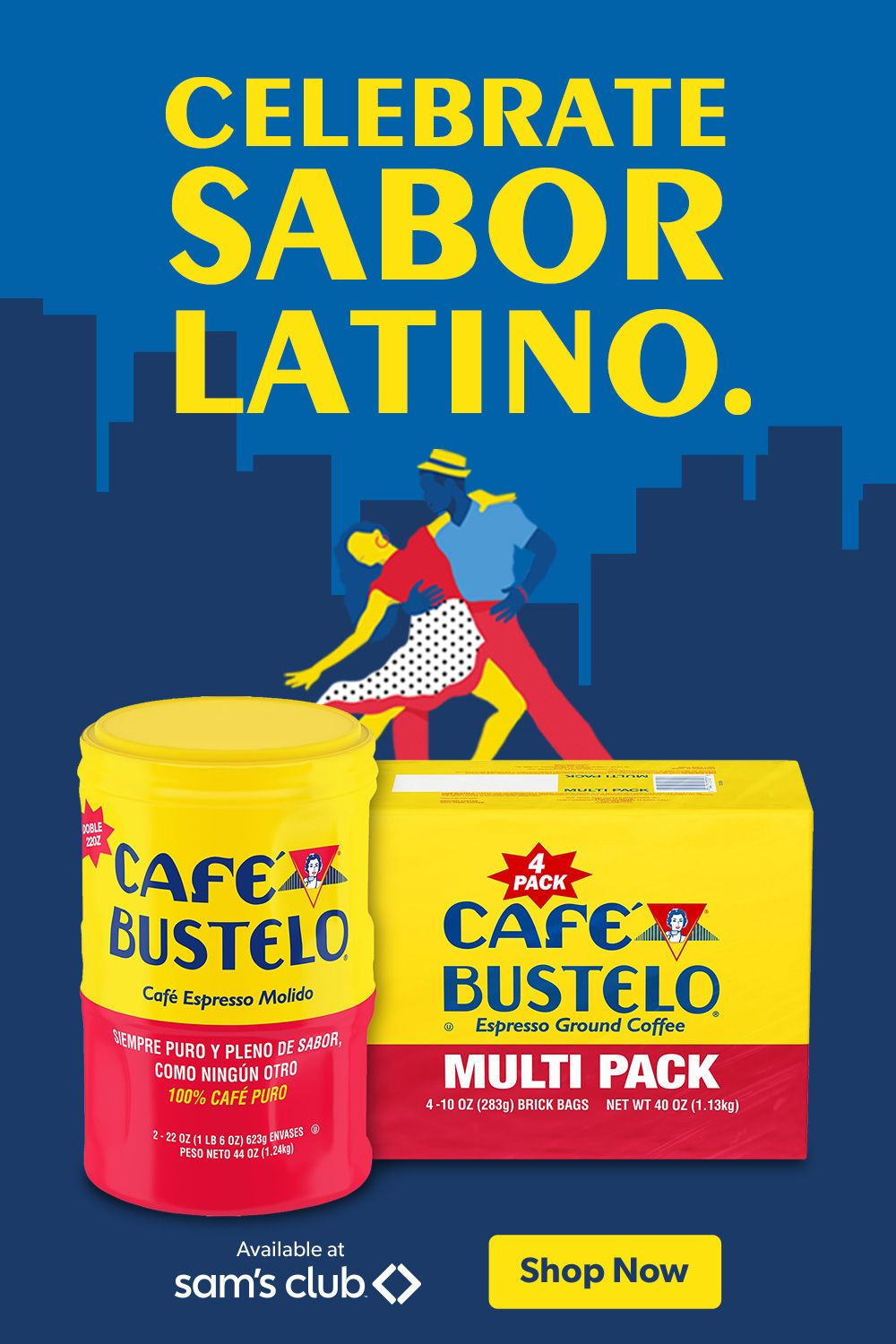 Make anytime the right time for Sabor Latino. in 2020