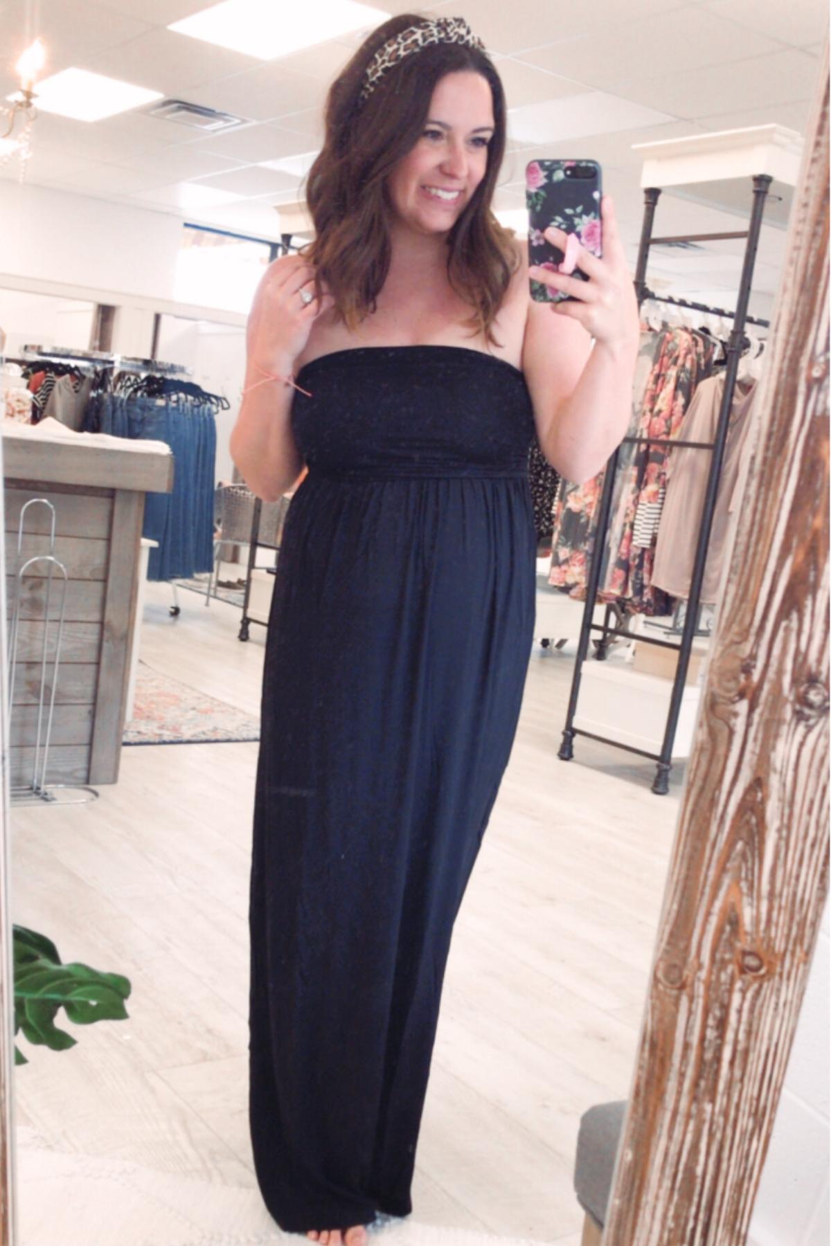 Black Maxi Dress Strapless Dress Formal Dresses Black Maxi Dress [ 1800 x 1200 Pixel ]