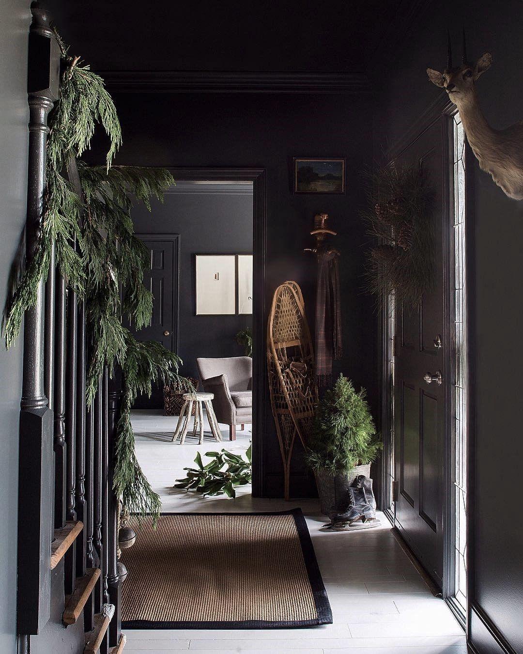 Inspired With Juxtaposition Home Modern Farmhouse Design Dark