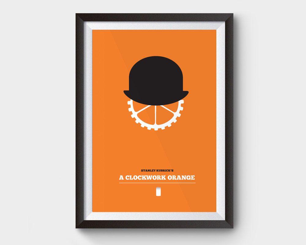 A Clockwork Orange A3 Movie Poster