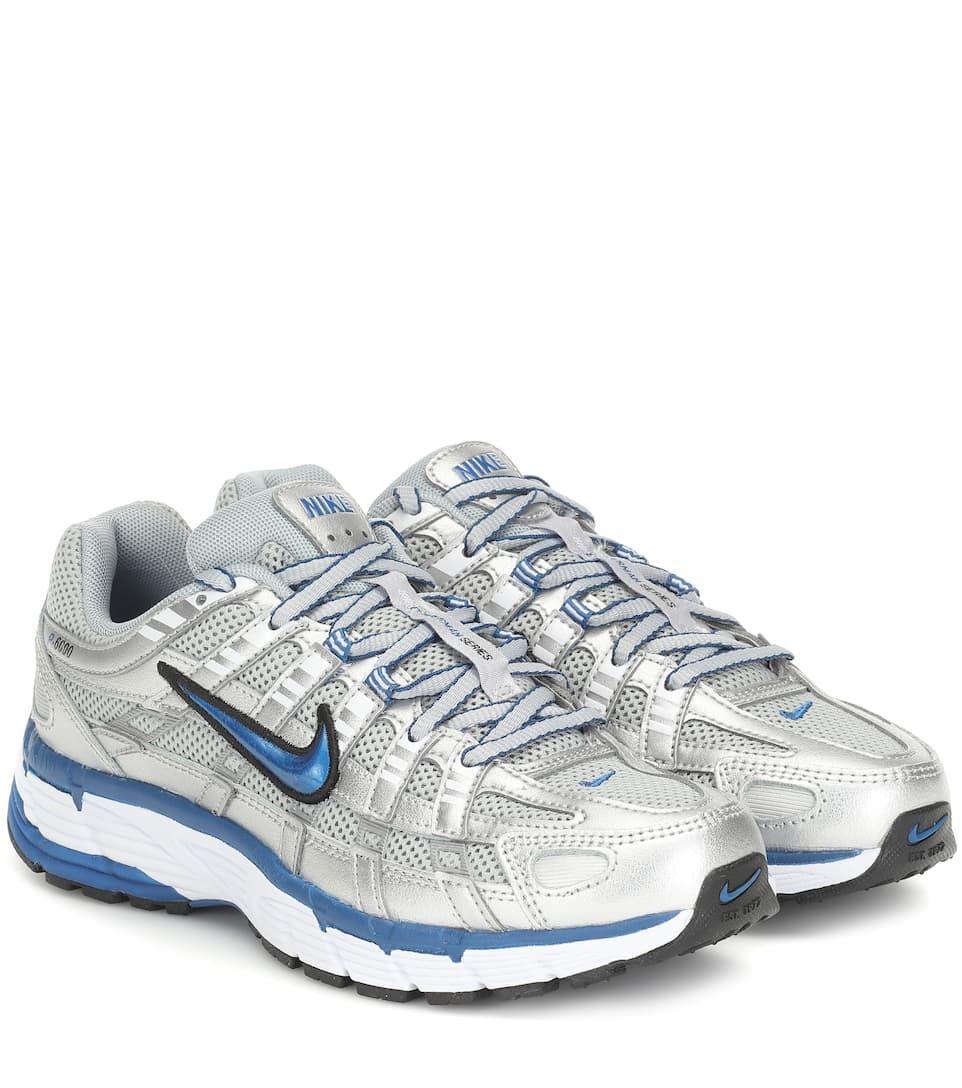 Wood Wood Nike Wmns Nike P 6000 in Silver Blue | BV1021
