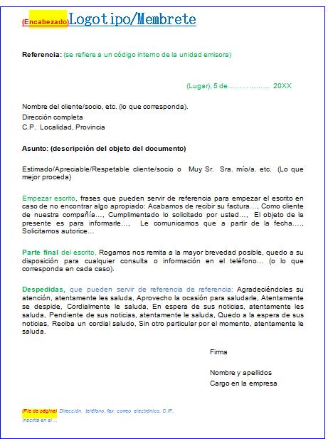 Carta Comercial Moderna Carta Comercial Ejemplo De Carta Carta De Solicitud