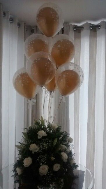 Pin Em Gira Girassol Baloes