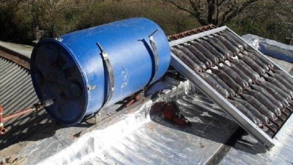 Como Construir Un Calefon Solar De Bajo Costo Con Botellas Con