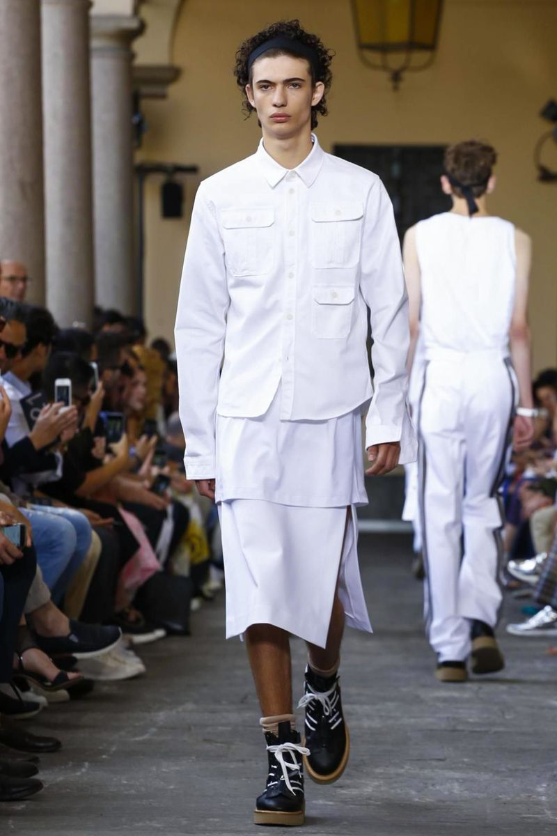 N menswear spring summer in milan worldwide men catwalks