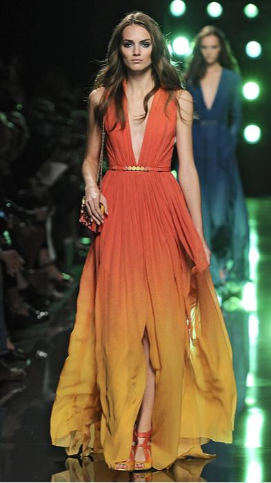 Ellie Saab Sp 15 runway, Beautiful dress