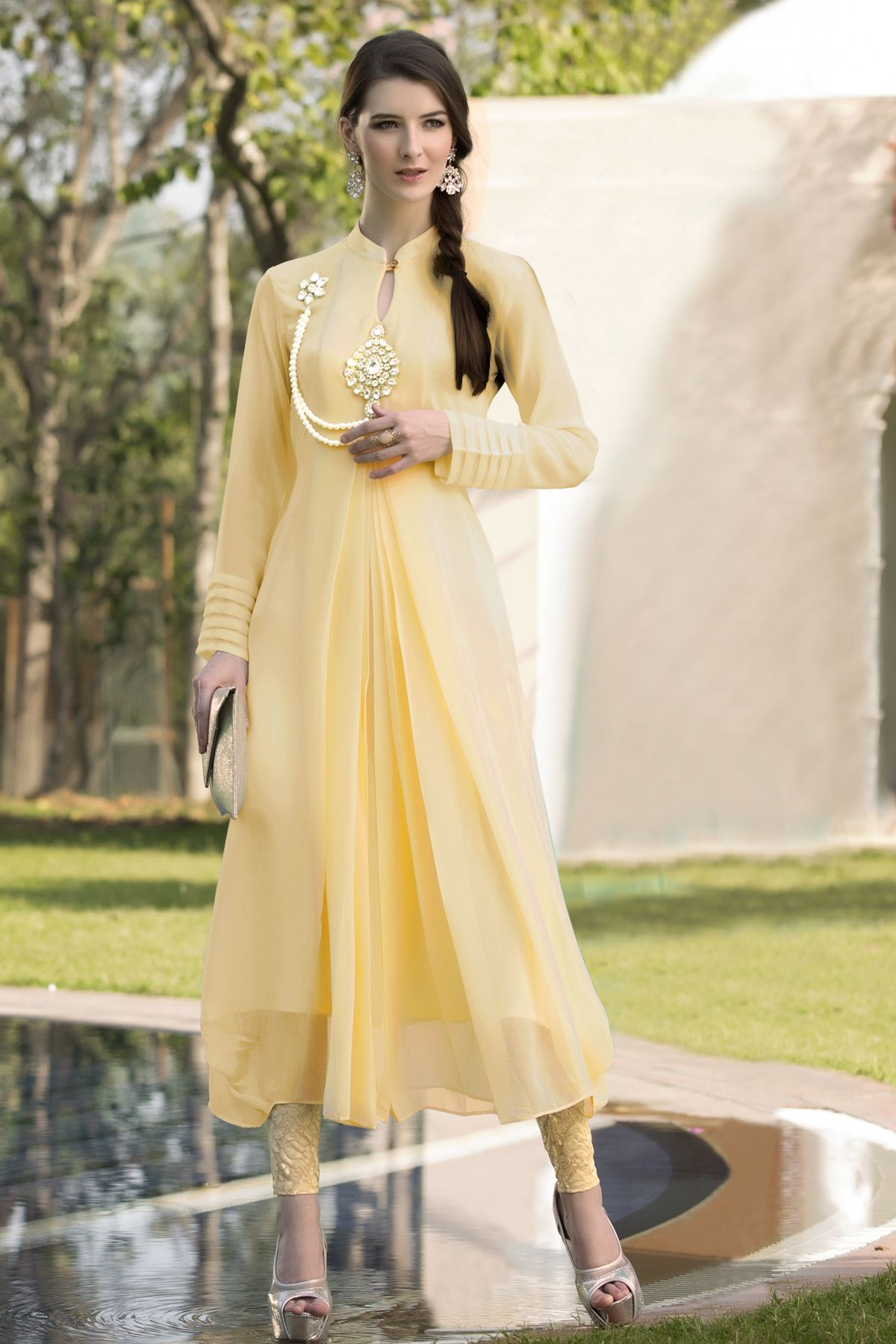 #designer #party #kurtis @ http://zohraa.com/cream-faux-georgette-kurti.html #celebrity #zohraa #onlineshop #womensfashion #womenswear #bollywood #look #diva #party #shopping #online #beautiful #beauty #glam #shoppingonline #styles #stylish #model #fashionista #women #lifestyle #fashion #original #products #saynotoreplicas
