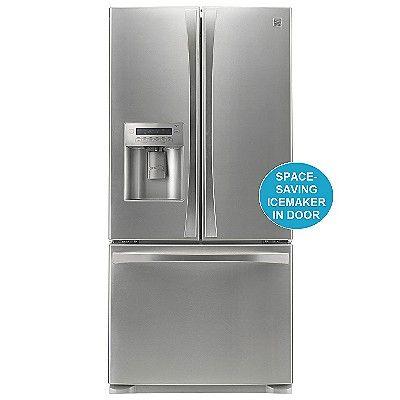 Kenmore Elite 25 0 Cu Ft French Door Bottom Freezer Refrigerator
